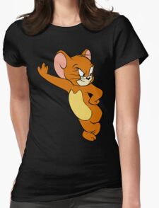 tom and jerry Womens Fitted T-Shirt