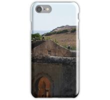 Chellah ruins, Morocco iPhone Case/Skin