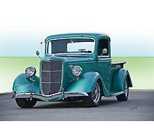 1935 Ford Custom Pickup  Photographic Print
