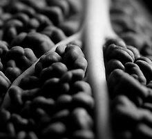 Vegetable, still-life macro. by Hayley Joyce
