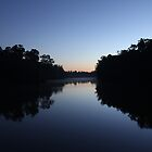 Sunrise on the River - Echuca by jonxiv