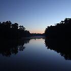 Sunrise on the River - Echuca by jonxiv