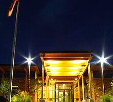 Main Entrance Inland Power  by Paul Morgan