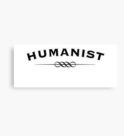 Humanist Canvas Print