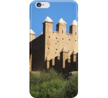 Chellah turrets, Morocco iPhone Case/Skin