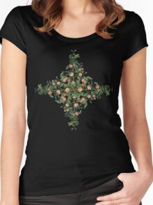 Peaches and Green Women's Fitted Scoop T-Shirt