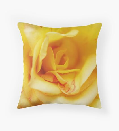 Yellow Madame Throw Pillow