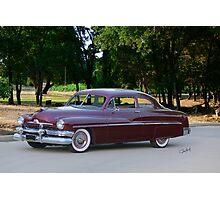 1951 Mercury Monterey Coupe Photographic Print