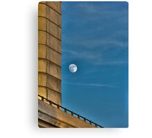 Urban Moonscape Canvas Print