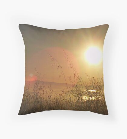 Claremont Canyon 2 Throw Pillow