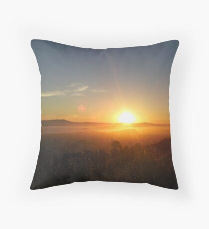 Claremont Canyon 4 Throw Pillow