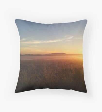 Claremont Canyon 5 Throw Pillow