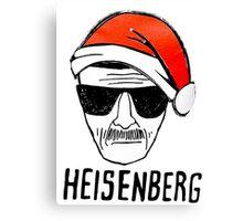 Heisenberg Christmas Canvas Print