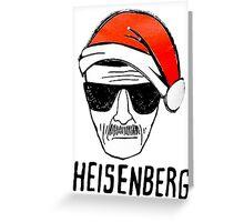 Heisenberg Christmas Greeting Card