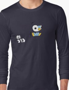 Pokemon 393 Piplup Long Sleeve T-Shirt