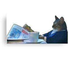 I Should Buy A Boat - Classic Cat Meme v.3 Canvas Print