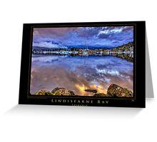 Lindisfarne Bay Greeting Card