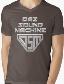 Das Sound Machine Mens V-Neck T-Shirt