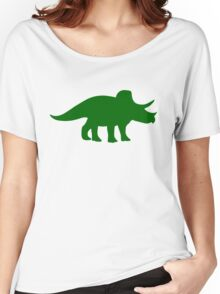 Triceratops Dinosaur Women's Relaxed Fit T-Shirt