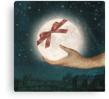 For You, The Moon Canvas Print