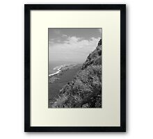 Edge of the Island Framed Print