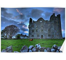 Leamaneh Castle, Co.Clare Ireland Poster