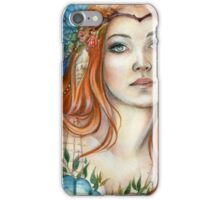 Mermaid Fairy Fantasy Art by Janna Prosvirina iPhone Case/Skin