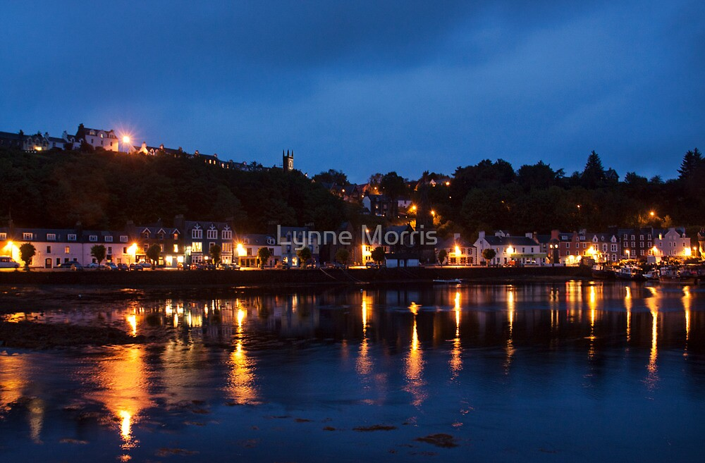 Tobermory At Night by Lynne Morris