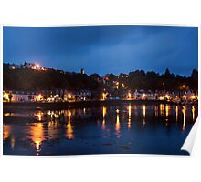 Tobermory At Night Poster