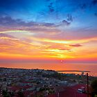 sunset. kyparissia / Greece by Stavros