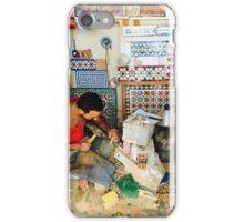 Mosaic maker, Morocco iPhone Case/Skin