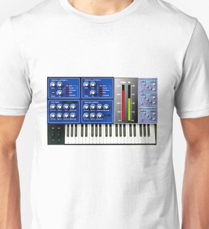Synthersizer Unisex T-Shirt