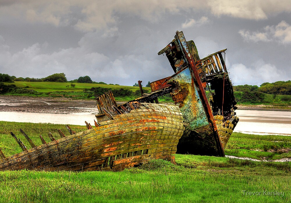 Fleetwood Wrecks by Trevor Kersley