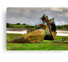 Fleetwood Wrecks Canvas Print