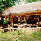 Village shop,  Burma. by John Mitchell