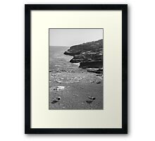 Volcanic Coast Framed Print