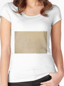 river landscape Women's Fitted Scoop T-Shirt