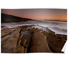 Curwee Cove Botany Bay East Sydney Poster
