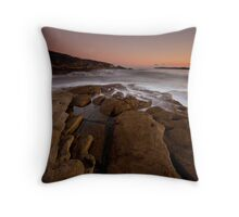 Curwee Cove Botany Bay East Sydney Throw Pillow