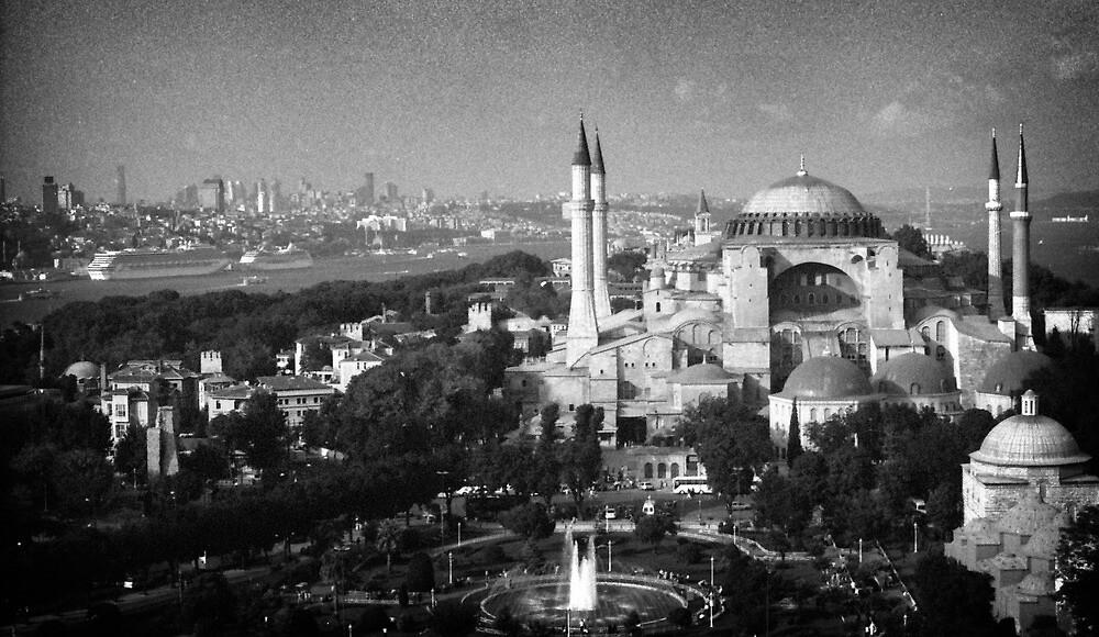 Mosque - Hagia Sophia by Stefan Kutsarov