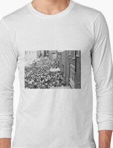 Italian street party, London Long Sleeve T-Shirt