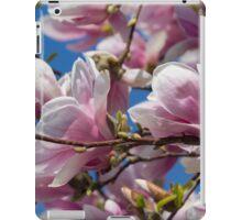 magnolia flower on tree iPad Case/Skin