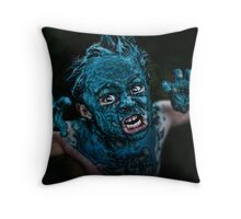 Contact High Throw Pillow