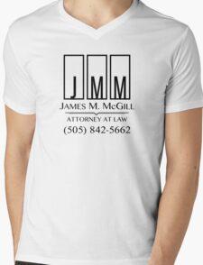 James M. McGill Mens V-Neck T-Shirt