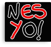 Nes Yo! Canvas Print