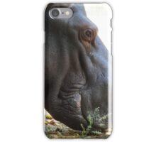 Happy hippo iPhone Case/Skin