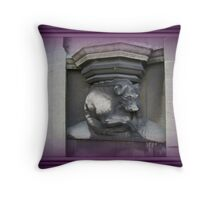 Gargoyle 2. Throw Pillow