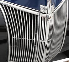 Ford Truck V8 Grille - Tennessee by Glenn Cecero