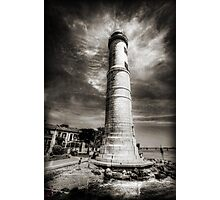 In the Shadow of the Lighthouse Photographic Print