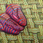 341 - CUDDLY BUNNIES - DAVE EDWARDS - COLOURED PENCILS & FINELINERS - 2011 by BLYTHART